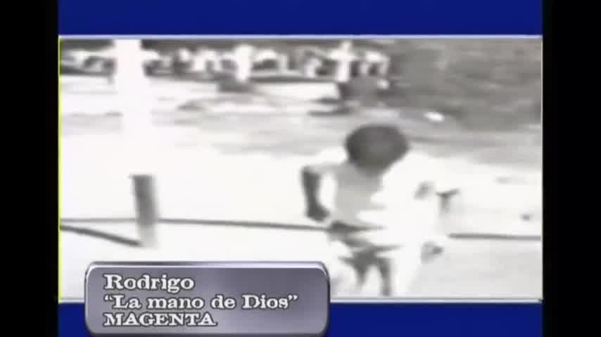 """Rodrigo, \""""La mano de Dios\"""" (2000)"""