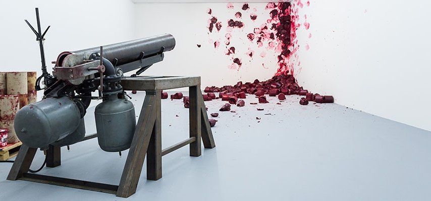 """""""Surge"""" de Anish Kapoor en Fundación Proa - Revista Noticias"""