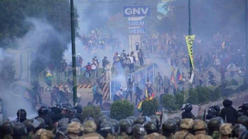 """Gualberto Arispe, dirigente del MAS: """"Se ha violado el derecho a la transitabilidad"""""""