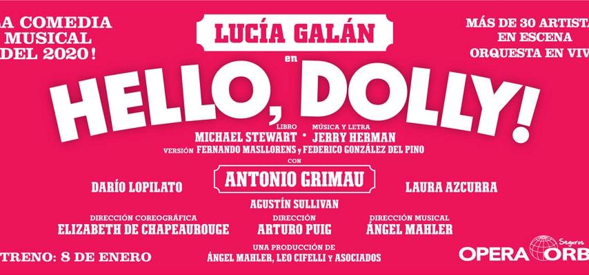 Lucía Galán nació para ser Dolly